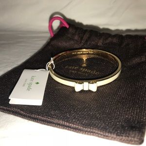 NWT Kate Spade bow bangle